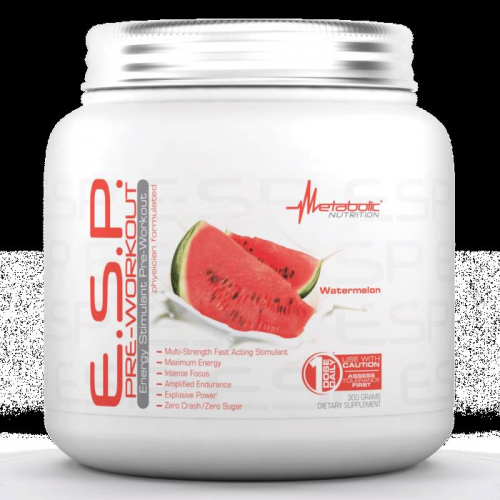 Metabolic Nutrition ESP Pre-Workout 300 Gr