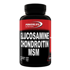 Powerlife Glucosamine Chondroitin MSM 180 Tablet