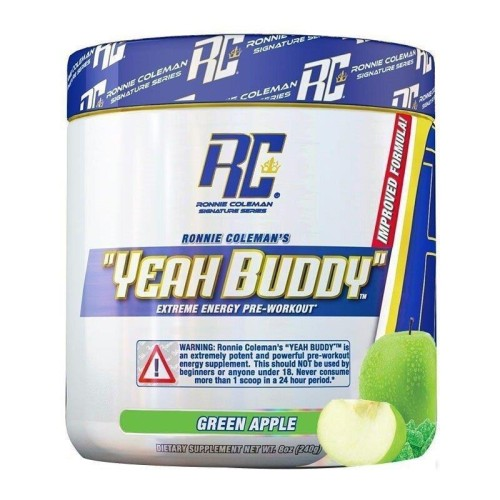 Ronnie Coleman Signature Series Yeah Buddy Pre-Workout 270 Gr Yeşil Elma