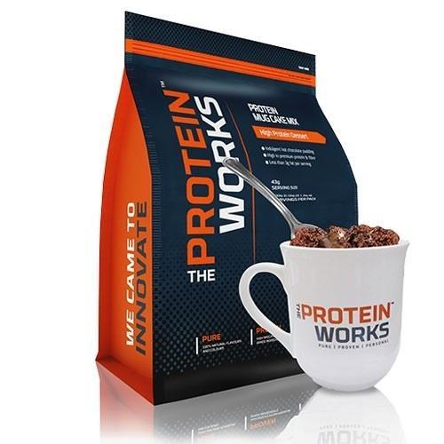 The Protein Works Protein Mug Cake Mix 500 gr