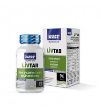 West LİVTAB Milk Th.& Enginar Eks.90 Tablet 1000Mg
