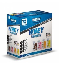 West Whey Protein Tozu 2592 gr 72 servis MİX 2